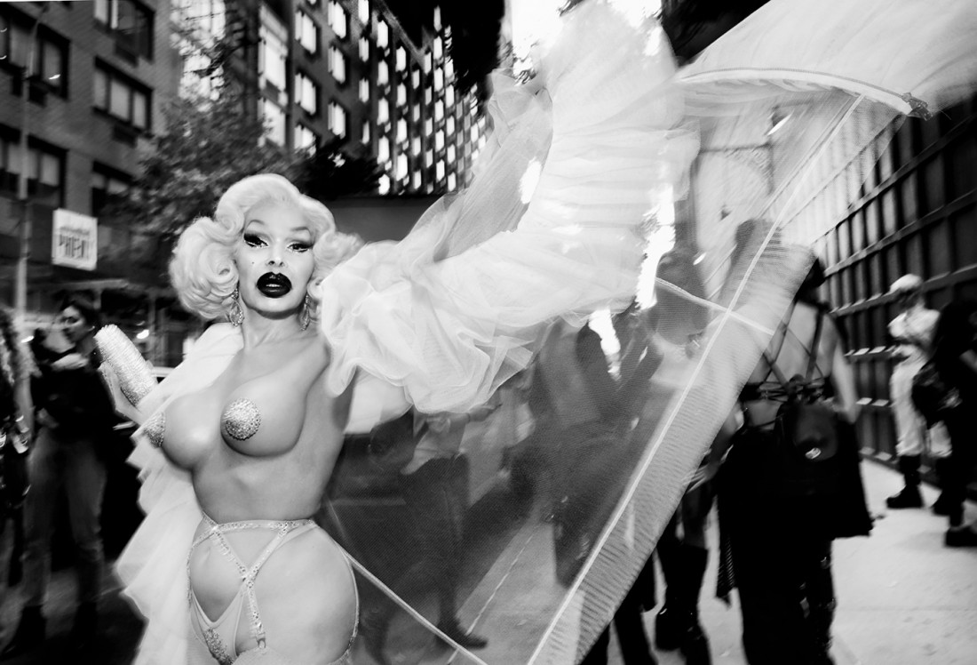 Amanda Lepore out on the STREET @NYFW SS2020 photo by Cheryl Gorski 2