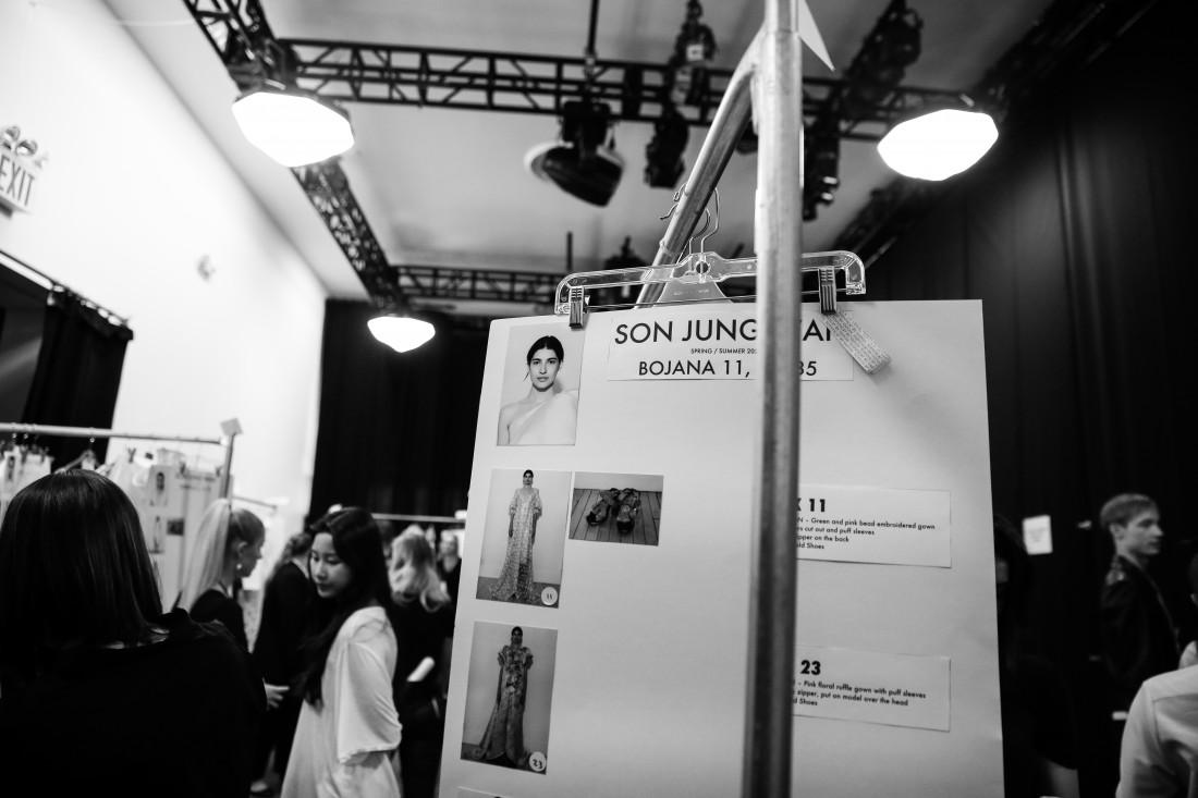 Backstage@ Son Jung Wan NYFW SS2020 Photo By Marisa Pena 1