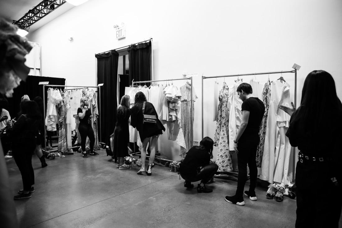 Backstage@ Son Jung Wan NYFW SS2020 Photo By Marisa Pena 3