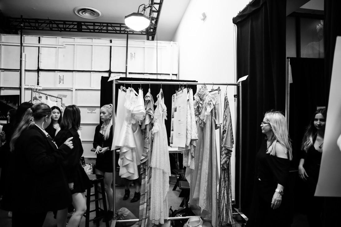 Backstage@ Son Jung Wan NYFW SS2020 Photo By Marisa Pena 5