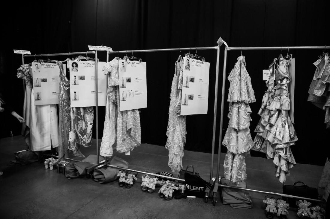 Backstage@ Son Jung Wan NYFW SS2020 Photo By Marisa Pena 8