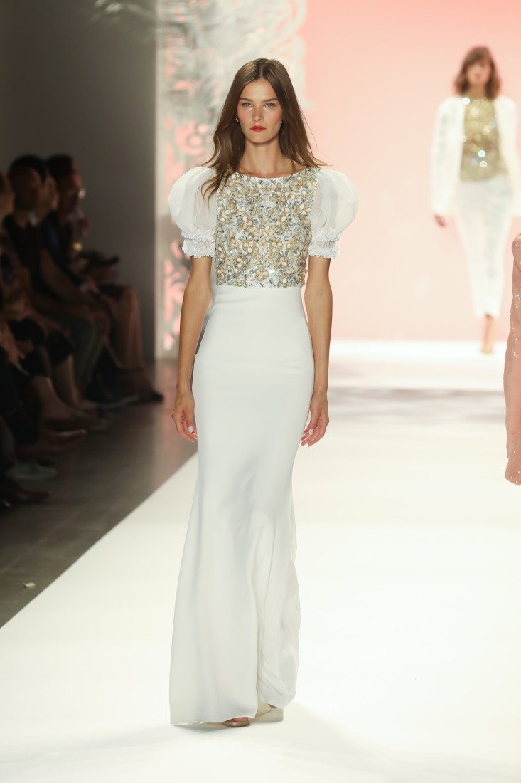 Badgley Mischka NYFW SS2020 Photo By Marisa Pena 64