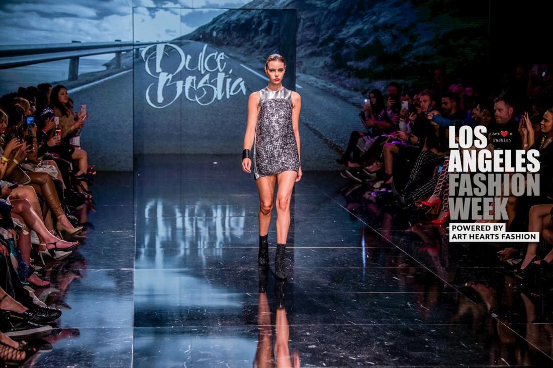 DULCE BESTIA LA FW Art Hearts Fashion SS2020 photos by Johnathan Sutton 1