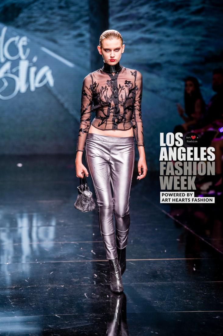 DULCE BESTIA LA FW Art Hearts Fashion SS2020 photos by Johnathan Sutton 2