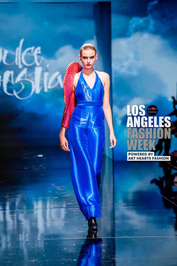 DULCE BESTIA LA FW Art Hearts Fashion SS2020 photos by Johnathan Sutton 21