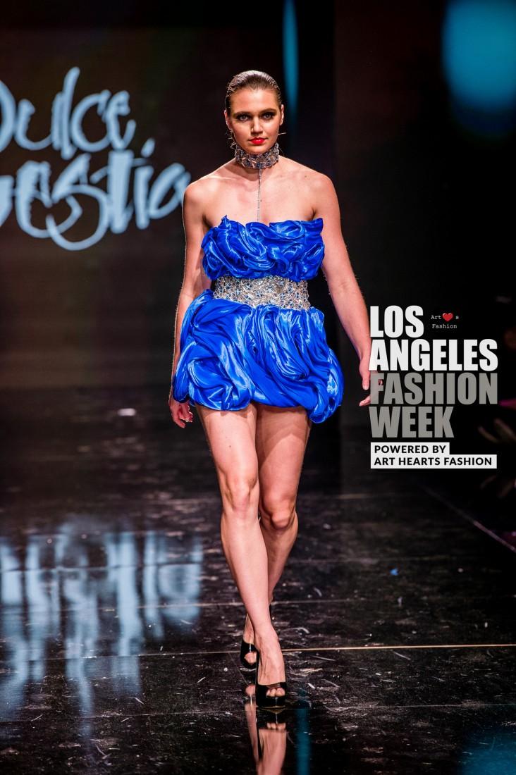 DULCE BESTIA LA FW Art Hearts Fashion SS2020 photos by Johnathan Sutton 22