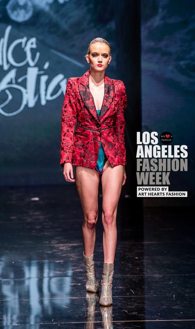 DULCE BESTIA LA FW Art Hearts Fashion SS2020 photos by Johnathan Sutton 26