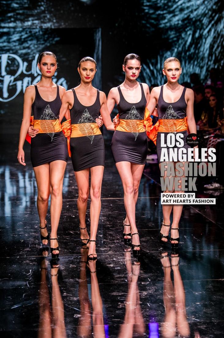 DULCE BESTIA LA FW Art Hearts Fashion SS2020 photos by Johnathan Sutton 30