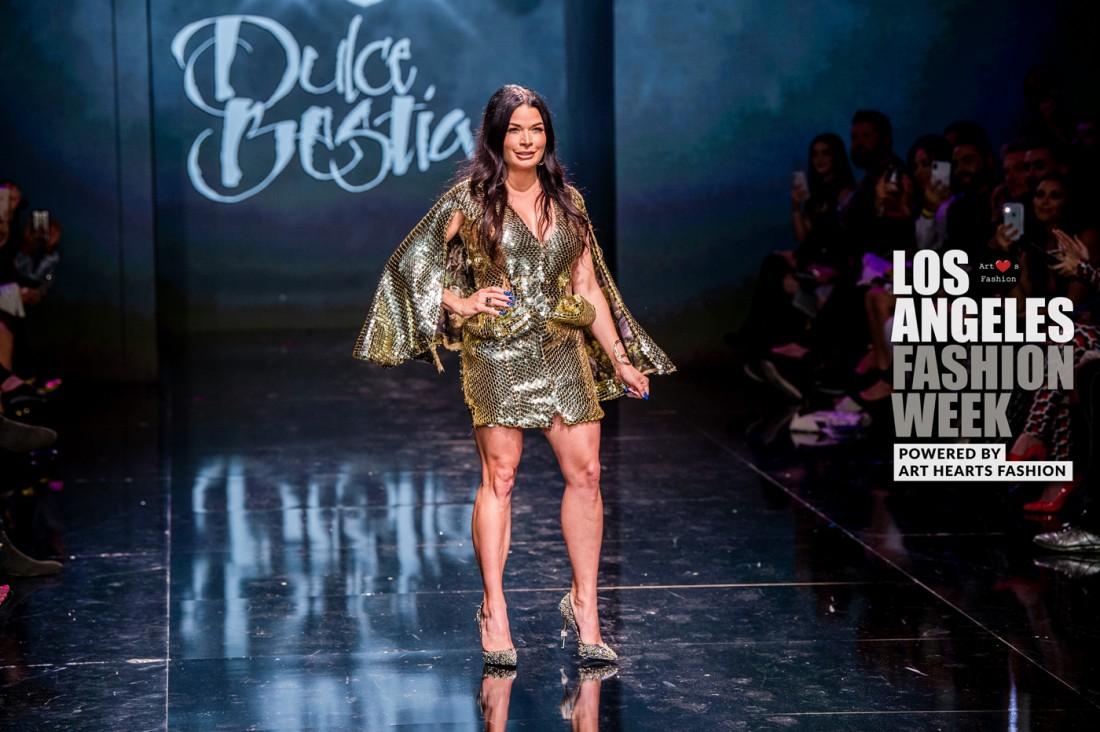 DULCE BESTIA LA FW Art Hearts Fashion SS2020 photos by Johnathan Sutton 34