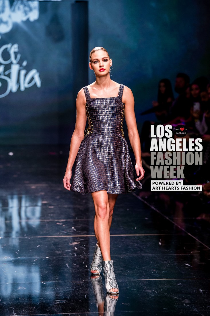 DULCE BESTIA LA FW Art Hearts Fashion SS2020 photos by Johnathan Sutton 6