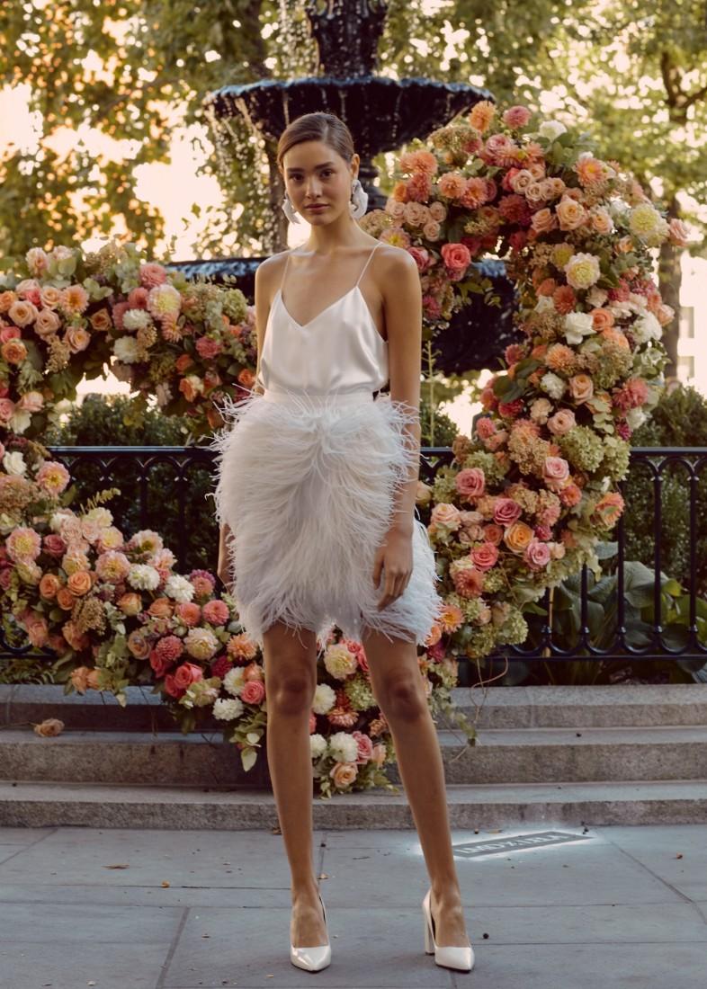 LELA ROSE NYFW BRIDAL FW2020 photo by NINA WESTERVELT 14