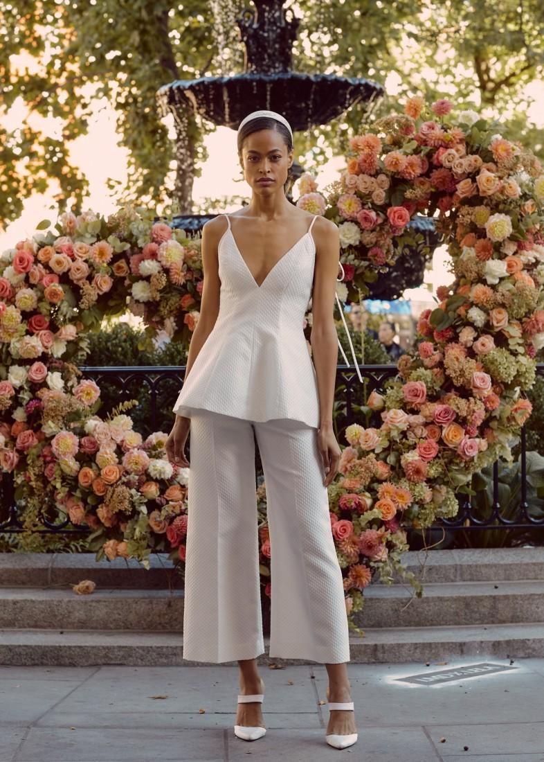 LELA ROSE NYFW BRIDAL FW2020 photo by NINA WESTERVELT 16