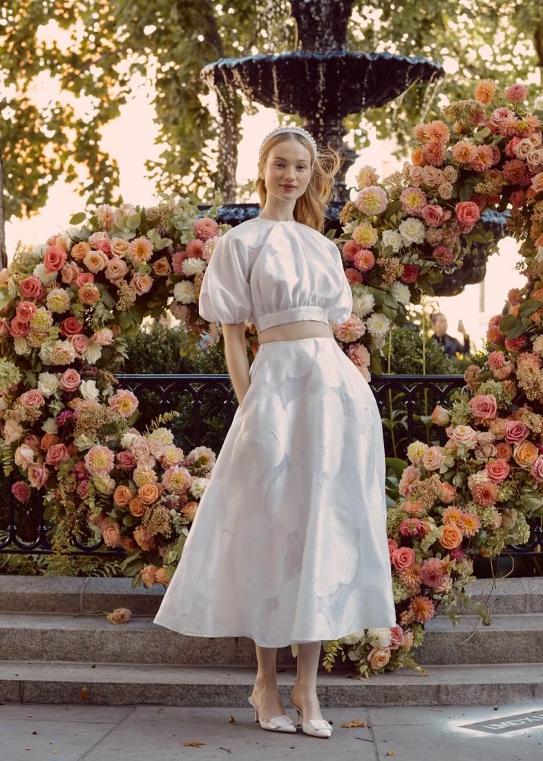 LELA ROSE NYFW BRIDAL FW2020 photo by NINA WESTERVELT 3