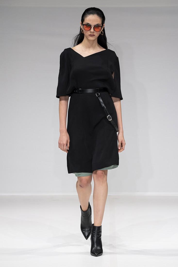 Leonie Mergen@Oxford Fashion Studio London SS2020 photo by IMAXTREE 11