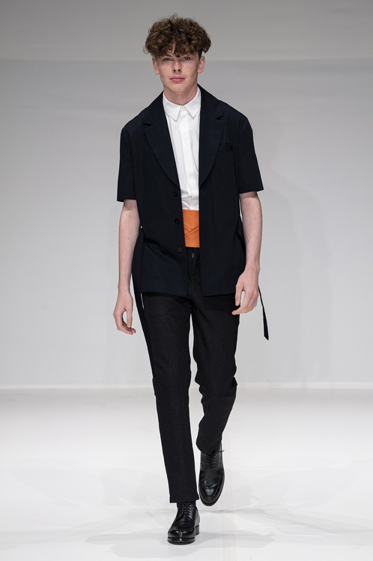 Leonie Mergen@Oxford Fashion Studio London SS2020 photo by IMAXTREE 12