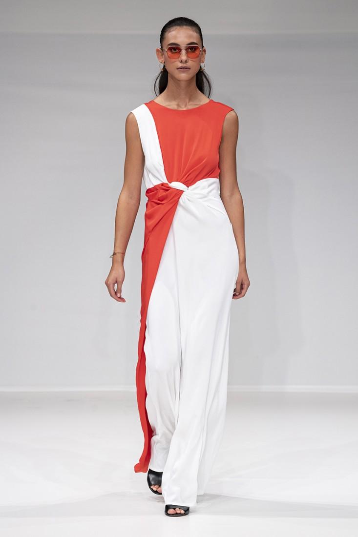 Leonie Mergen@Oxford Fashion Studio London SS2020 photo by IMAXTREE 15