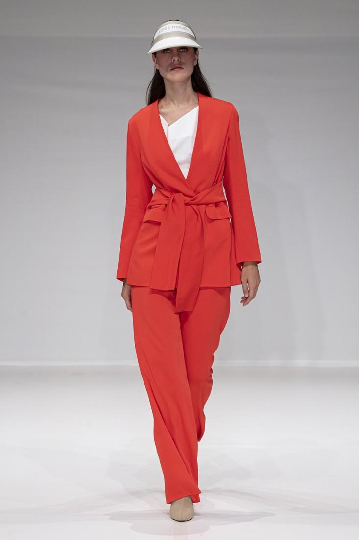 Leonie Mergen@Oxford Fashion Studio London SS2020 photo by IMAXTREE 17