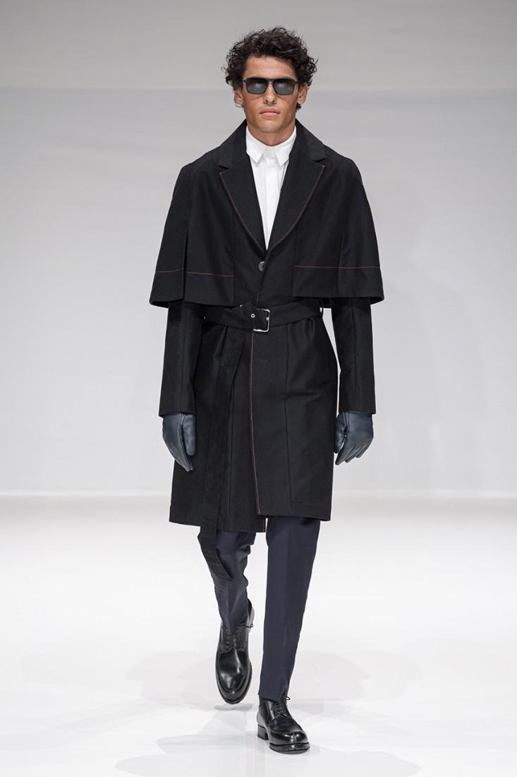 Leonie Mergen@Oxford Fashion Studio London SS2020 photo by IMAXTREE 18