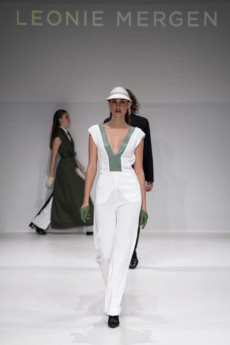 Leonie Mergen@Oxford Fashion Studio London SS2020 photo by IMAXTREE 19