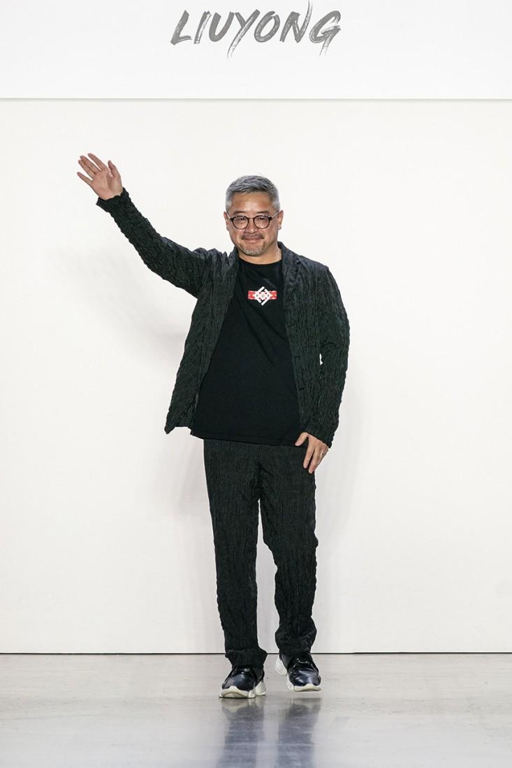 Liu Yong X Rishikensh NYFW SS2020 photos by IMAXTree 64