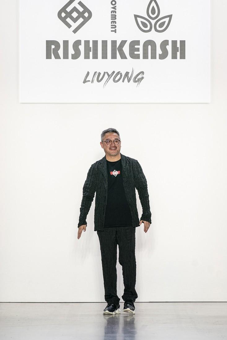 Liu Yong X Rishikensh NYFW SS2020 photos by IMAXTree 65
