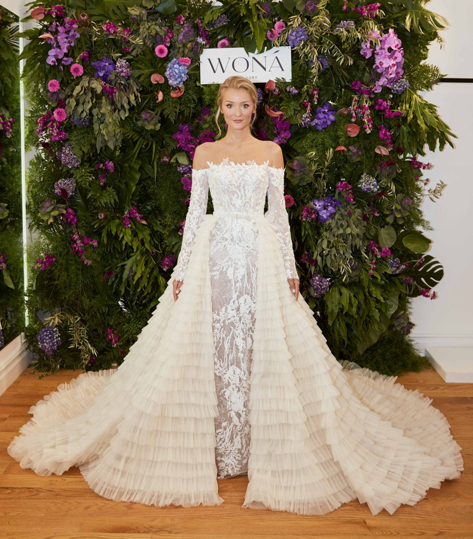 WONÁ Bridal presents Fall 2020 at NYBFW 14