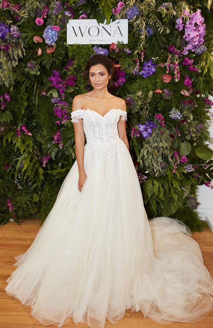 WONÁ Bridal presents Fall 2020 at NYBFW 19