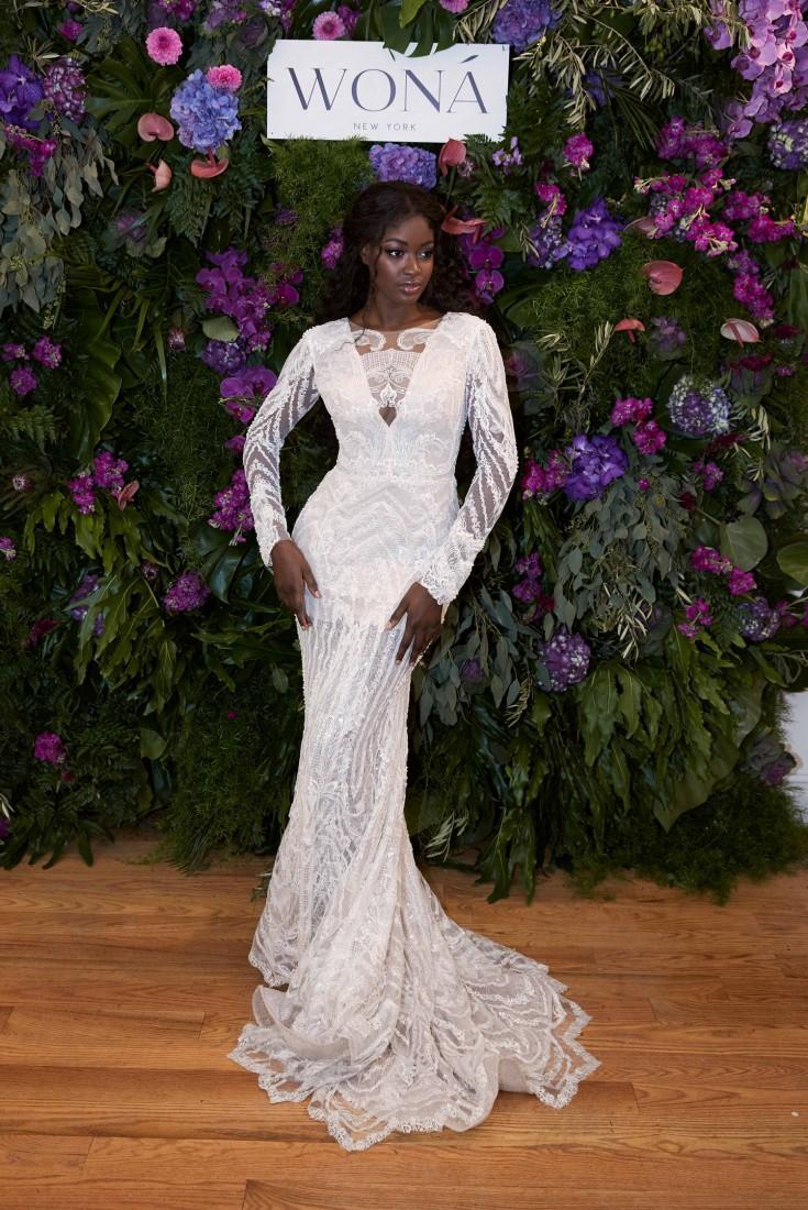 WONÁ Bridal presents Fall 2020 at NYBFW 2