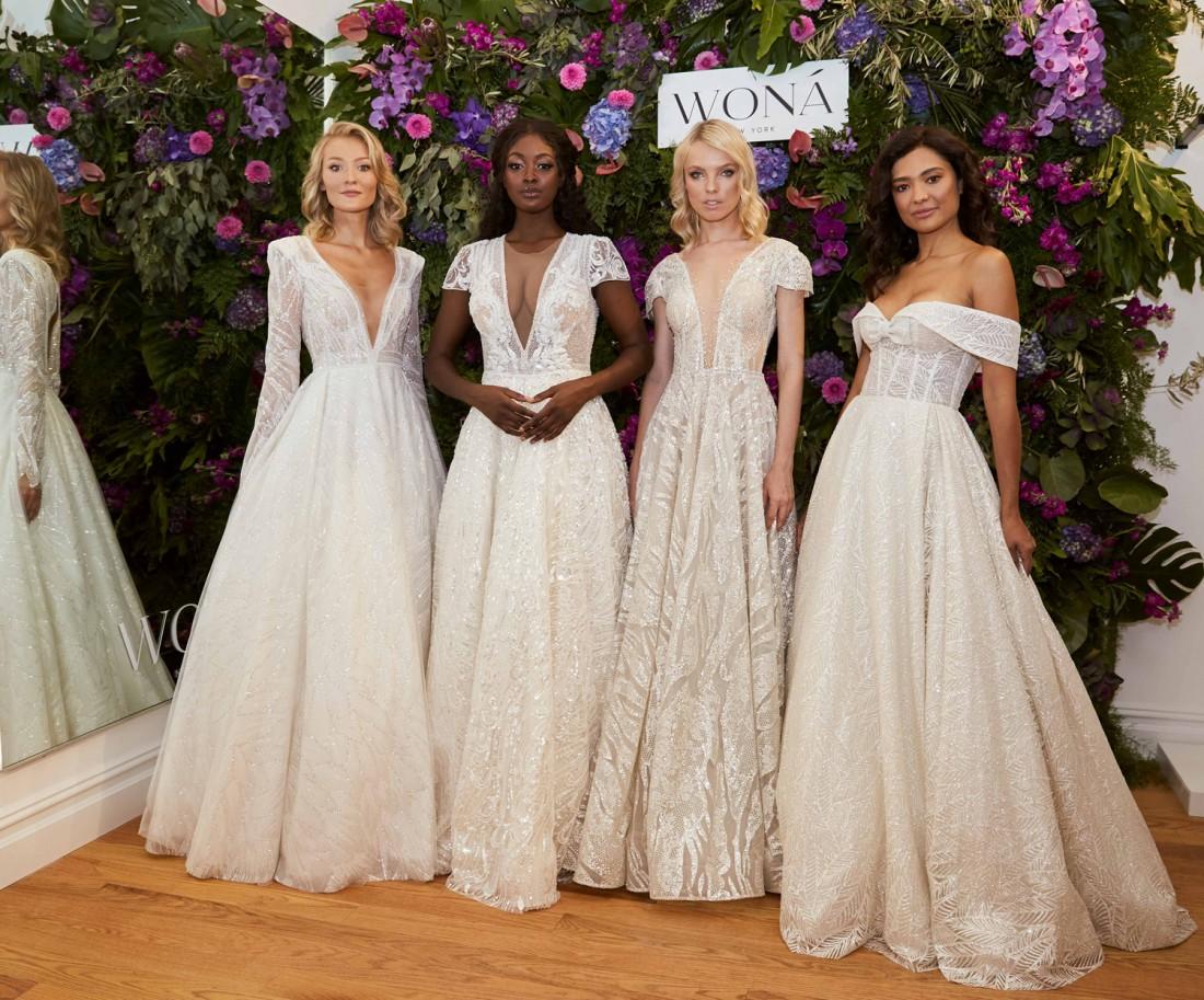 WONÁ Bridal presents Fall 2020 at NYBFW 7