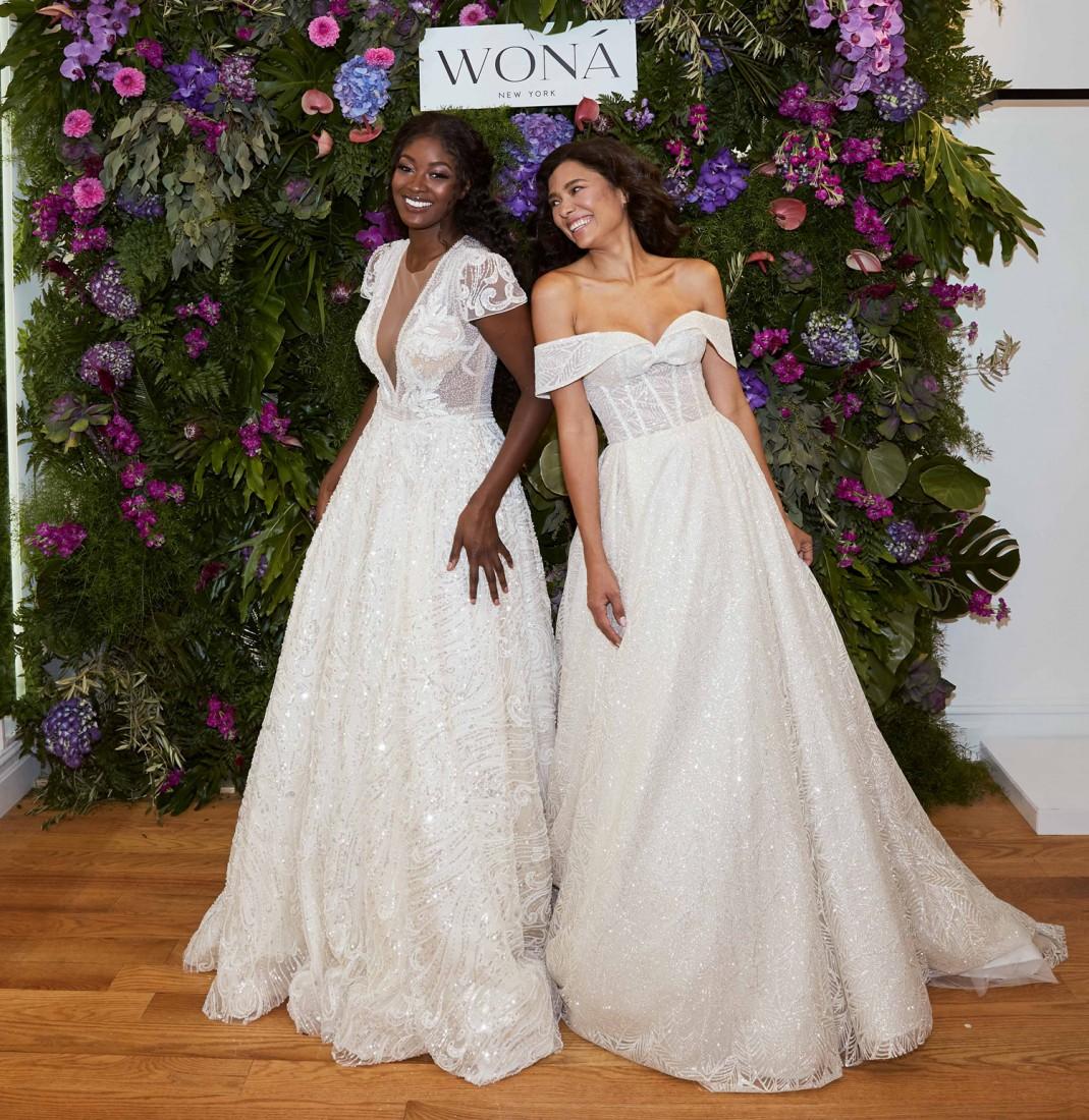 WONÁ Bridal presents Fall 2020 at NYBFW 9