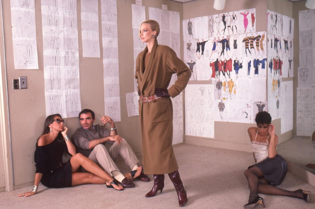Benson DonnaKaran.LouisDellOlio.AnneKlein.Model .Sketches