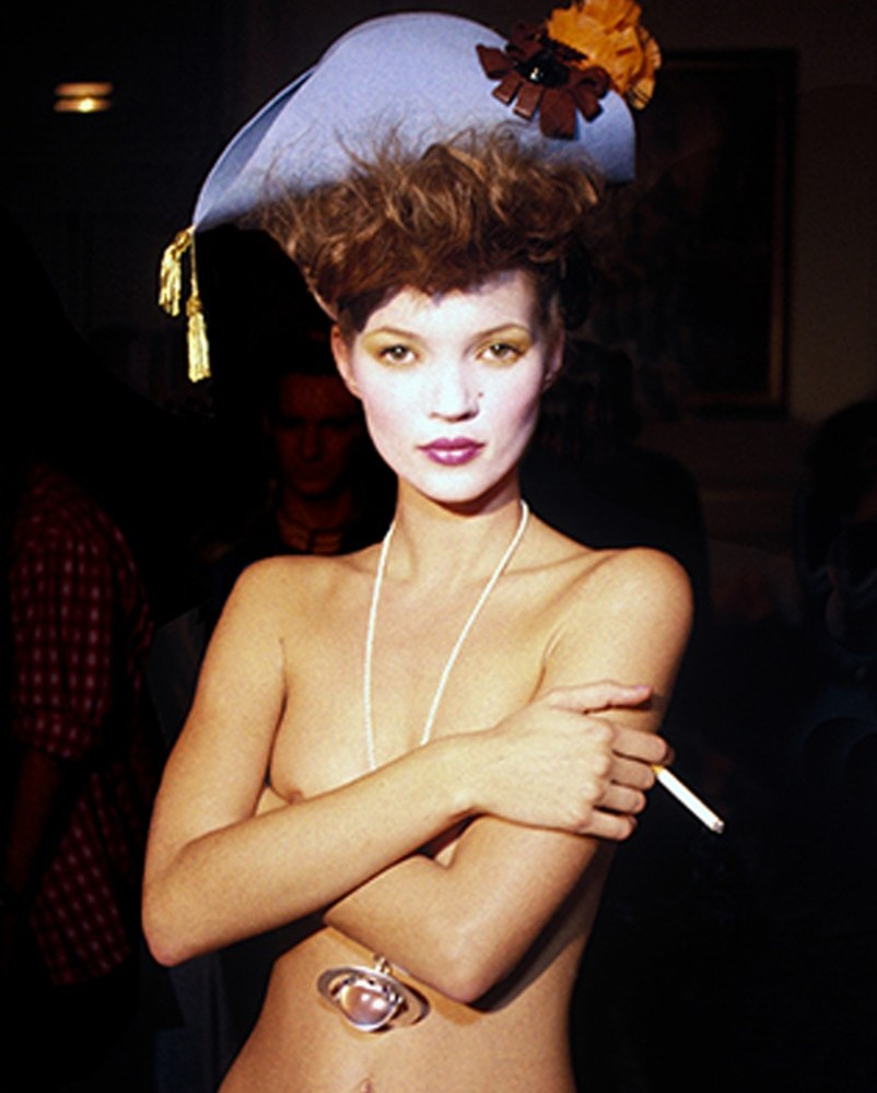 Benson KateMoss.Paris Medres