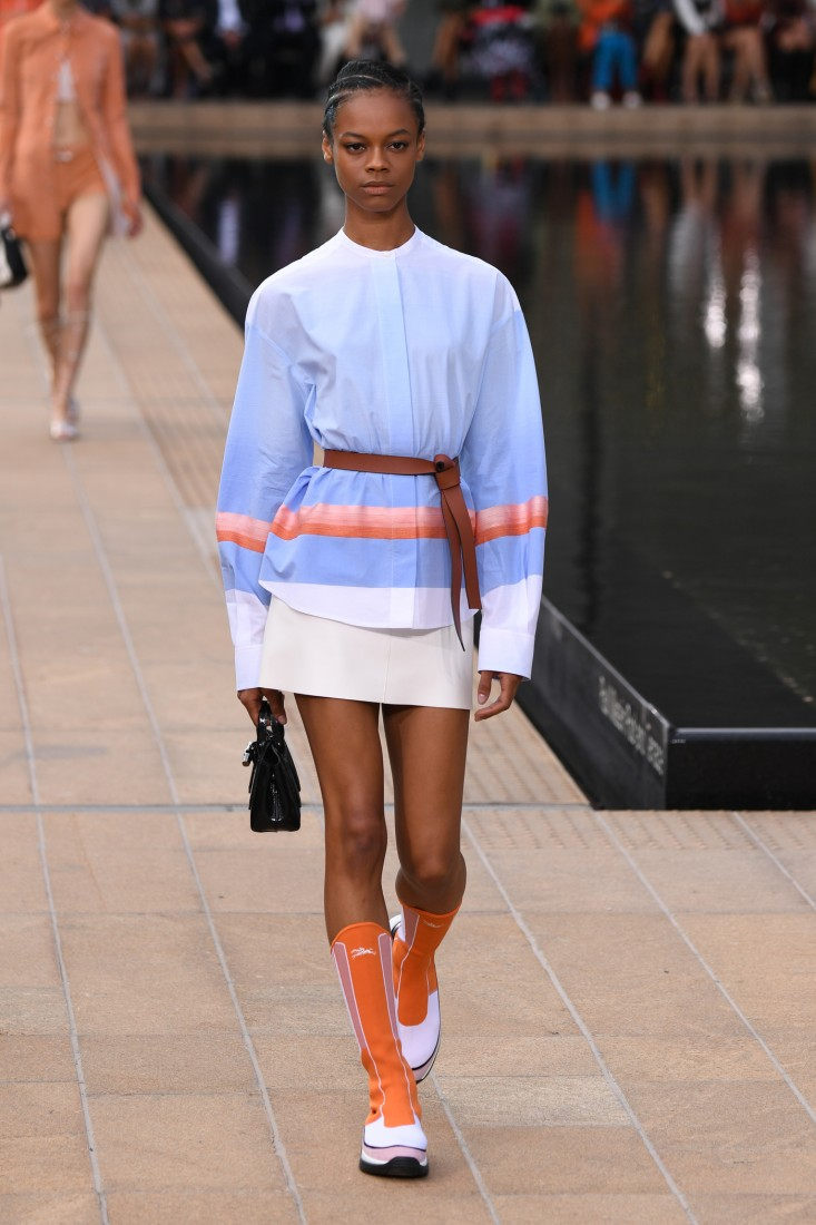 Longchamp NYFW SS2020 photo by Dave C. Smith Photo 33