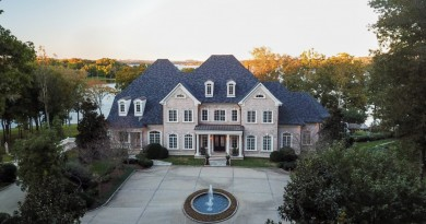 Kelly Clarksons Tennessee Lake Mansion 4