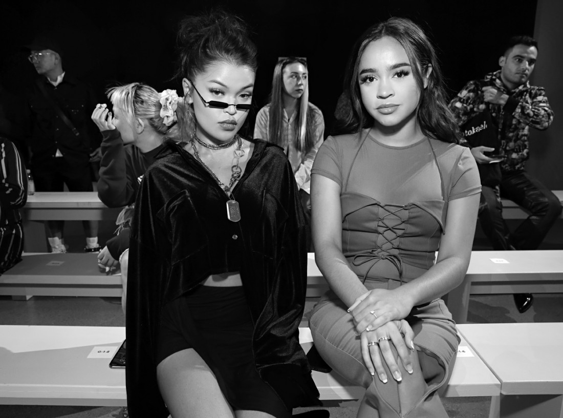 Koleen Diaz and Maria Bethany@Barragán NYFW SS2020 photo by Cheryl Gorski 7