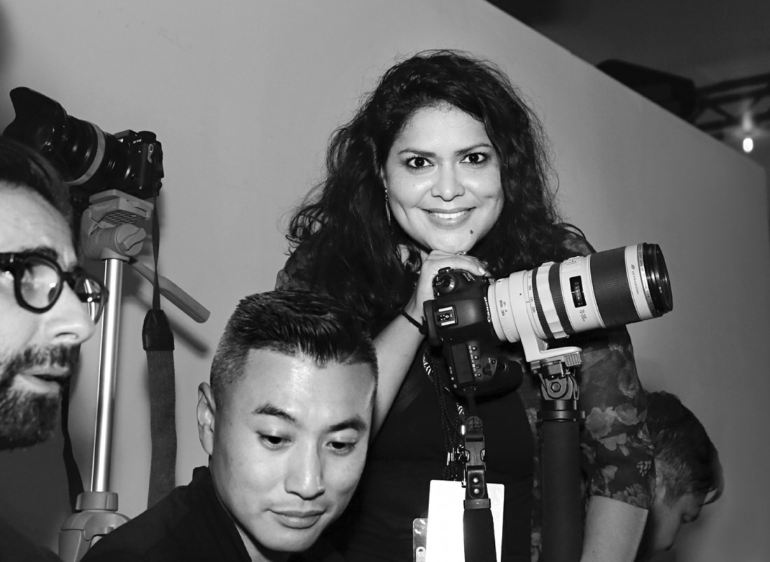 Marisa Pena@ China Day Xu Zhi NYFW SS2020 photo by Cheryl Gorski
