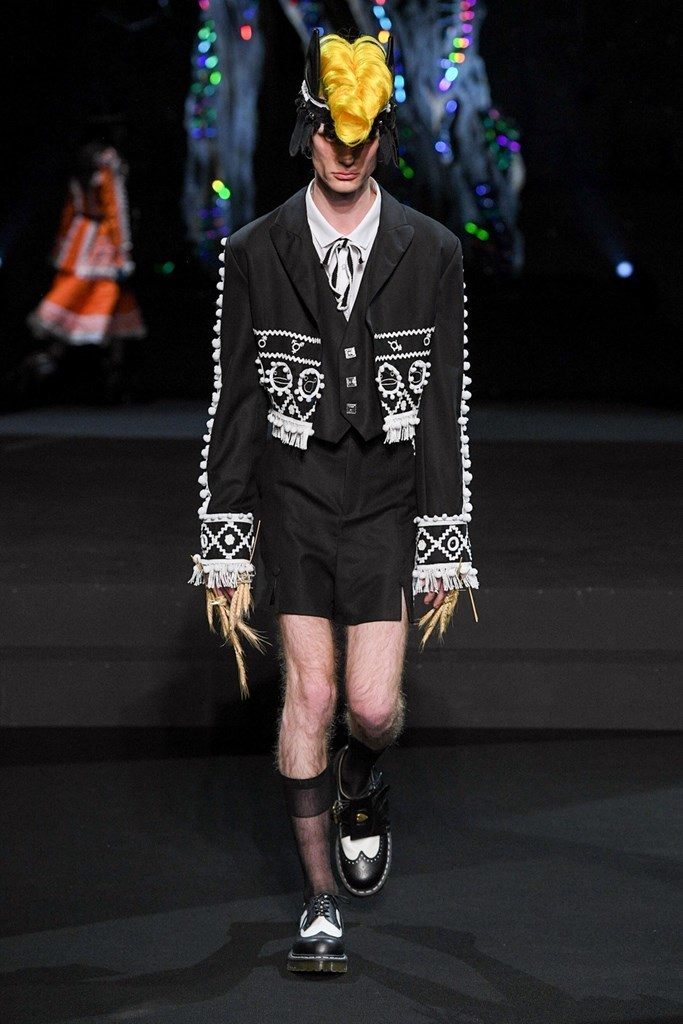 Charles Jeffrey LOVERBOY MENS LONDON FW2020 photos by IMAXTree 9