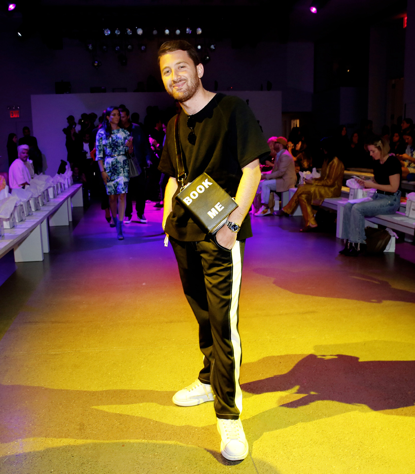 Derek Blasberg @Christian Cowan NYFW SS2020 photo by Cheryl Gorski 2
