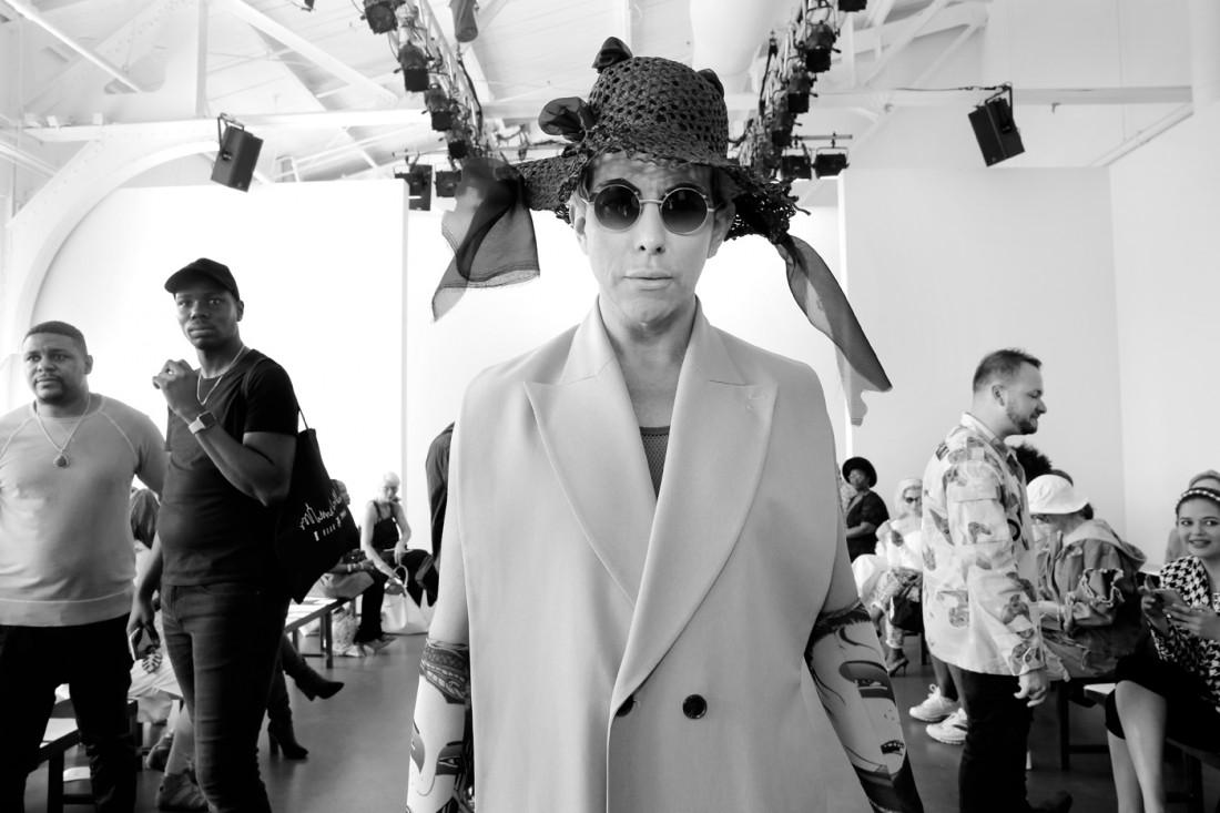Derek Warburton @Romeo Hunte NYFW SS2020 photo by Cheryl Gorski 23