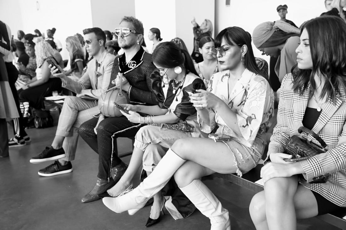Front Row@Romeo Hunte NYFW SS2020 photo by Cheryl Gorski 41