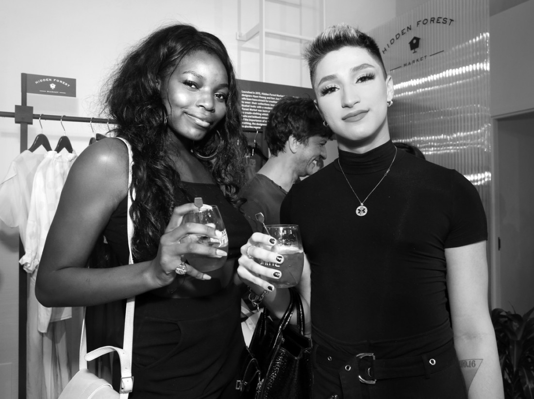 Guest@The Selects X The Daily Front Row NYFW SS2020 photo by Cheryl Gorski 10