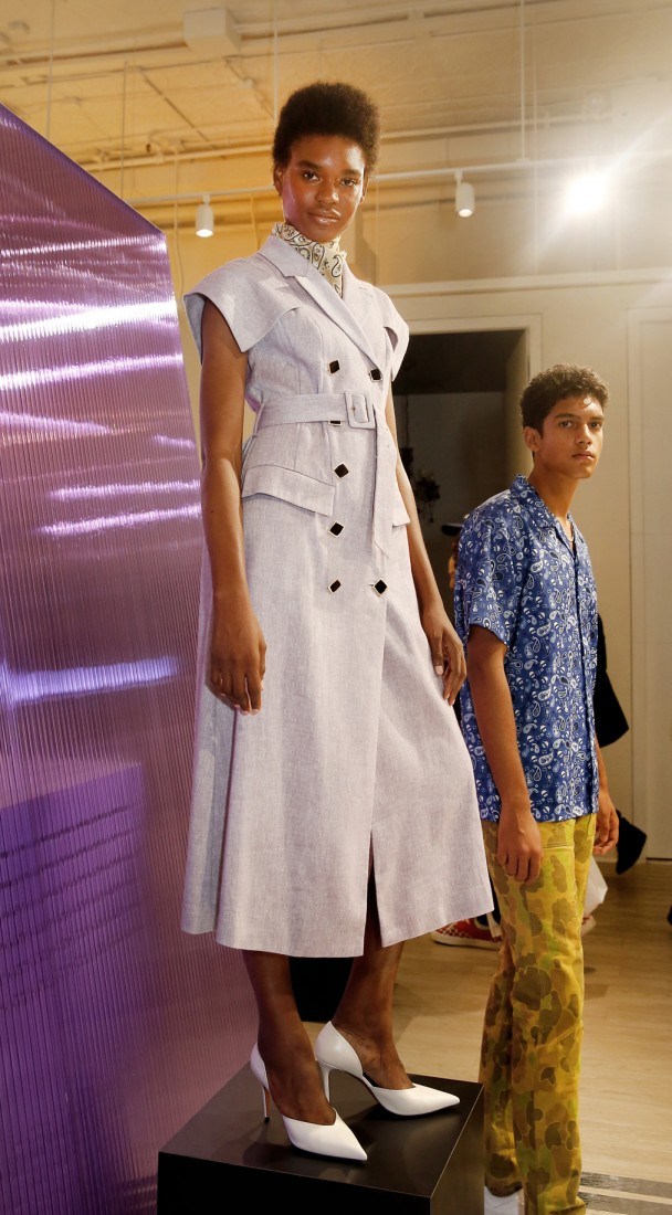 HEOHWAN he Selects X The Daily Front Row NYFW SS2020 photo by Cheryl Gorski d