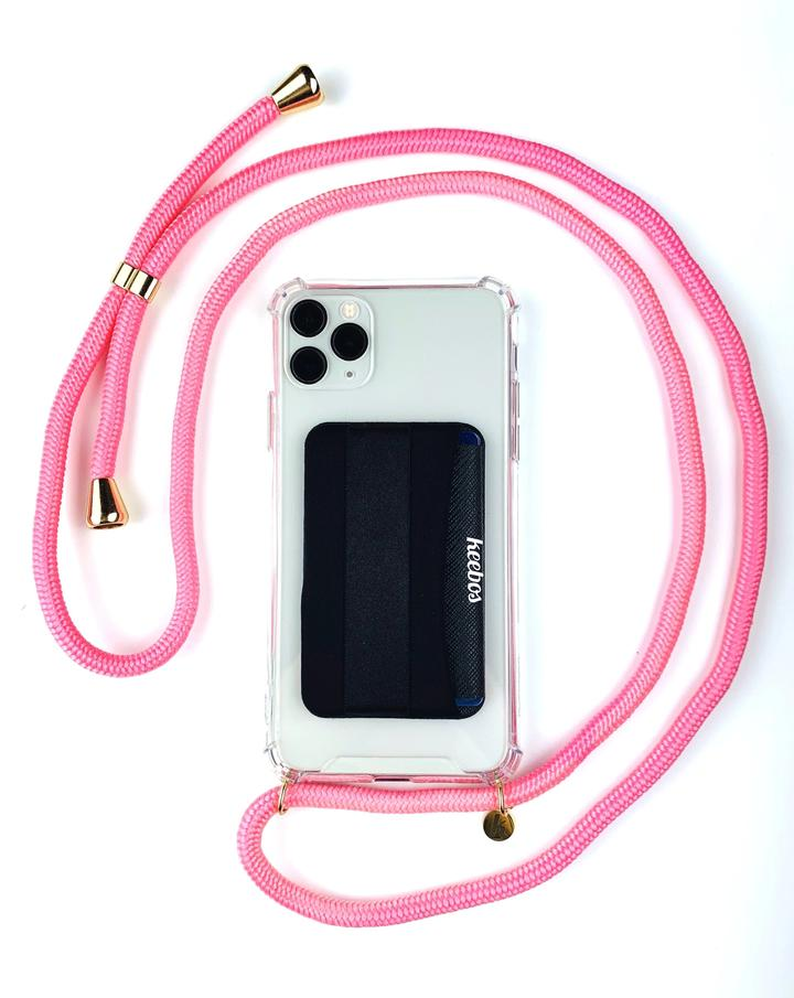 KEEBOS Crossbody Phone Case 28.95 Flower Pink Available on Amazon