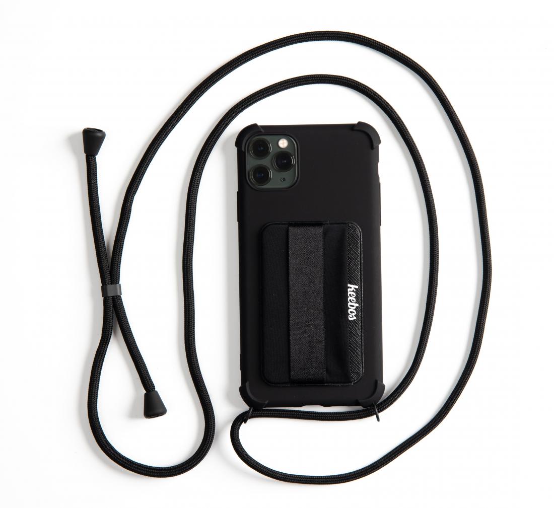 Keebos crossbody phone case lanyard handykette