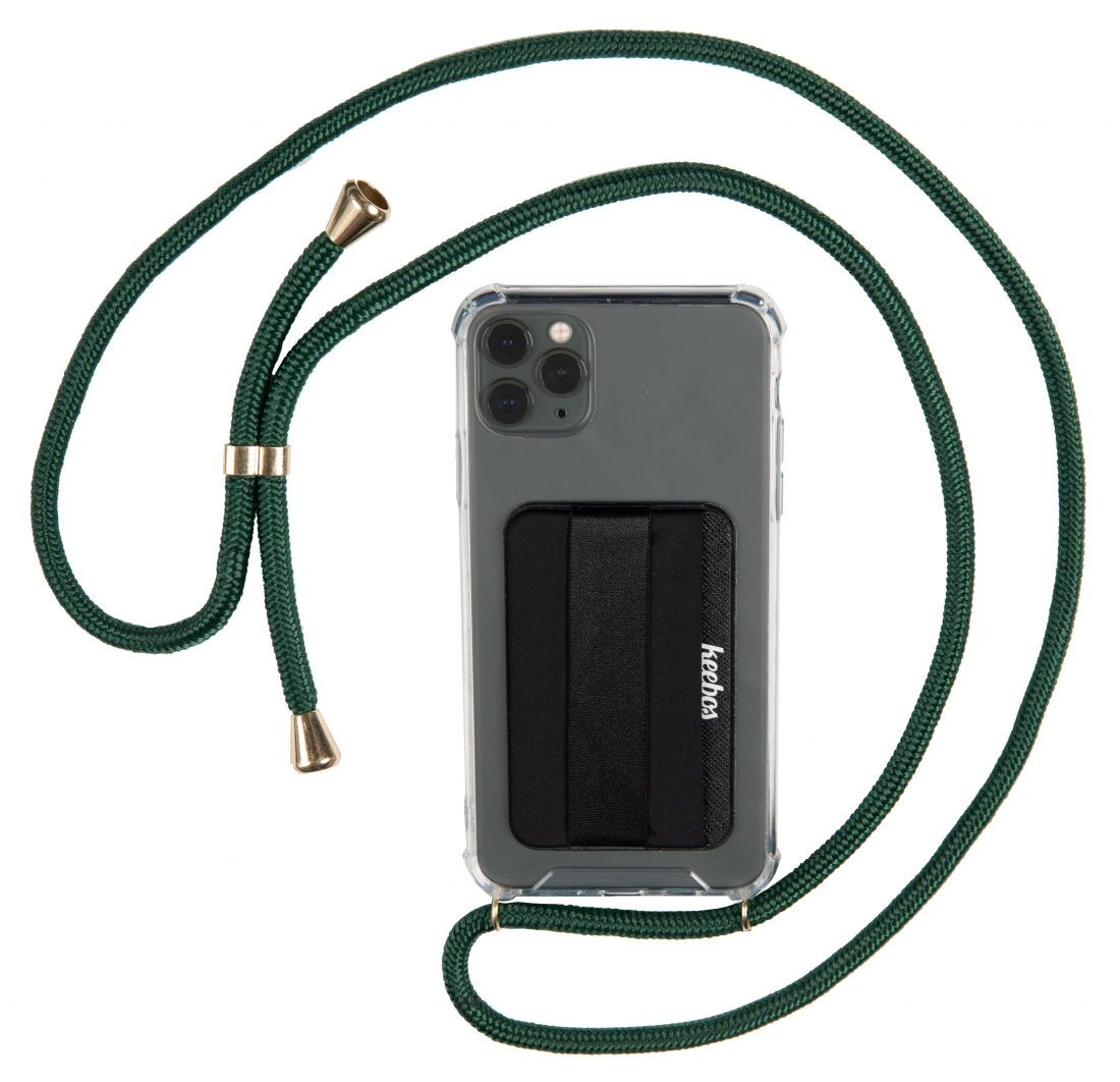 Keebos phone necklace case crossbody lanyard for iphone 11 pro max