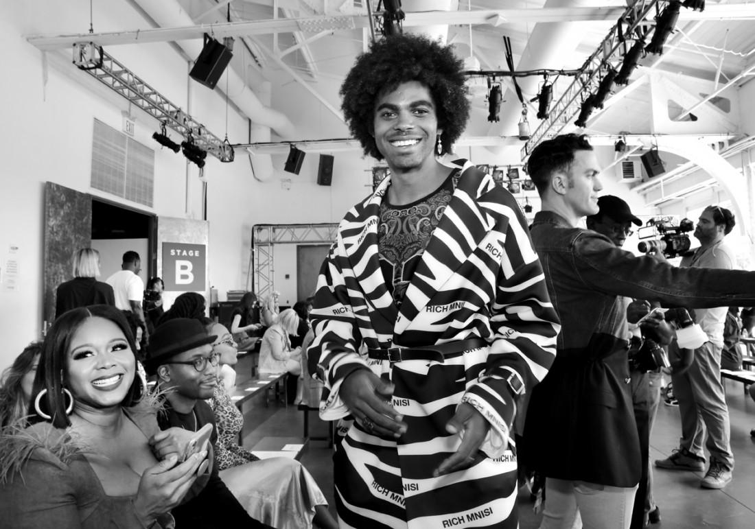 Sean Frazier@Romeo Hunte NYFW SS2020 photo by Cheryl Gorski 13