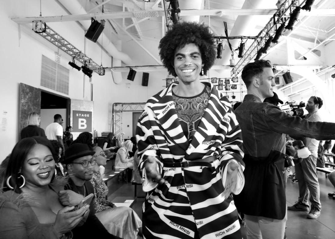 Sean Frazier@Romeo Hunte NYFW SS2020 photo by Cheryl Gorski 14
