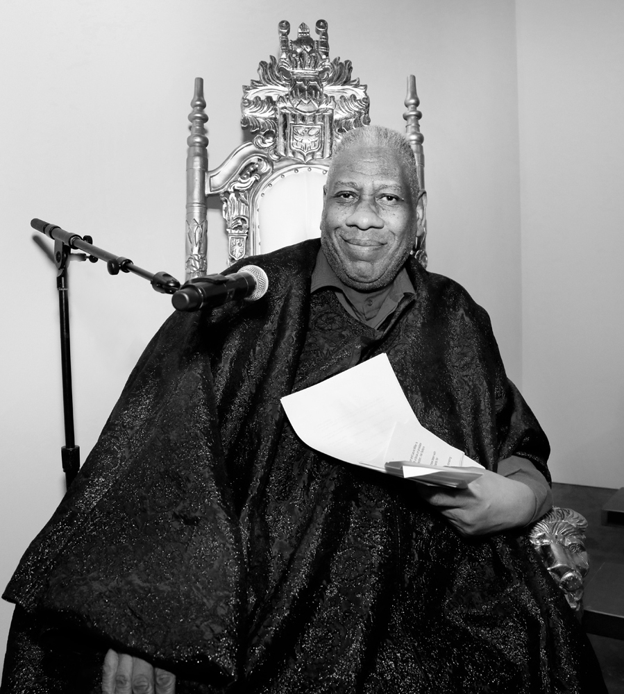 André Leon Talley@ Blue Jacket Mens NYFW FW2020 photo by Cheryl Gorski 1