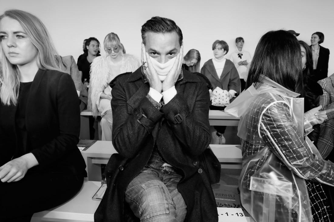 Front Row@ Bibhu Mohapatra NYFW FW2020 photo by Cheryl Gorski 17