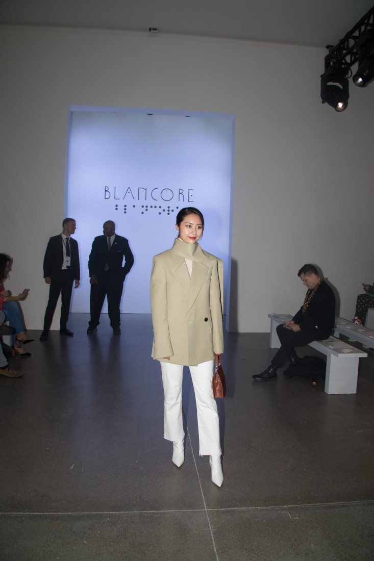 Front Row@Blancore NYFW FW2020 photo by Rudy K 2